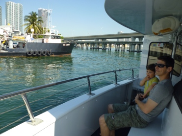 Croisière dans la baie de Miami